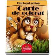 Catelusul schiop - Carte de colorat (Desene de Nicoleta Ionescu)