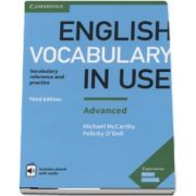 English Vocabulary in Use, Advanced. Vocabulary reference and practice. Includes ebook with audio, Third Edition (Felicity O Dell)