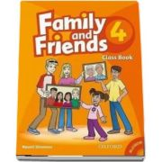 Family and Friends 4 - Class Book and MultiROM Pack de Naomi Simmons (New Edition)