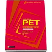 Sue Elliott, Richmond PET Practice Tests Students Book - CD-ROM with 7 practice tests (Auxiliar recomandat pentru elevii de gimnaziu)