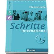 Schritte international niveau B1. Intensivtrainer mit Audio-CD zu Band 5 und 6 - Daniela Niebisch (Auxiliar recomandat pentru elevii de liceu)