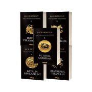 Pachet Percy Jackson si Olimpienii - Seria completa de Rick Riordan