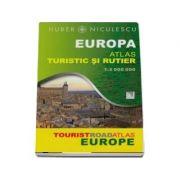 Europa. Atlas turistic si rutier (Huber)