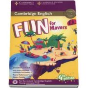 Anne Robinson, Fun for Movers Students Book with Online Activites and Home Fun Booklet 4 (4th edition)