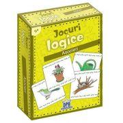 Jocuri logice - Asocieri (Contine 48 de jetoane)