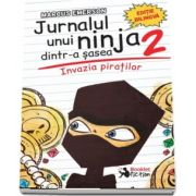 Marcus Emerson - Jurnalul unui ninja dintr-a sasea, volumul II. Invazia piratilor - Editie bilingva engleza-romana