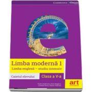 Limba engleza caietul elevului pentru clasa a V-a, limba moderna 1 - Studiu intensiv (Vicki Anderson)