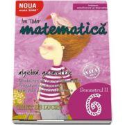 Ion Tudor - Matematica 2000. Algebra, geometrie. Caiet de lucru, pentru clasa a VI-a. Semestrul al II-lea (Initiere, ameliorare si dezvoltare)