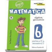 Matematica - CONSOLIDARE (2018 - 2019). Algebra si Geometrie, pentru clasa a VI-a. Partea a II-a, semestrul al II-lea (Colectia mate 2000+)