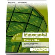 Matematica, probleme si exercitii - Teste, pentru clasa a XI-a - Profilul tehnic - Semestrul II - Autori Marius Burtea si Georgeta Burtea