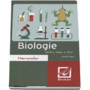 Memorator de Biologie pentru clasa a XI-a de Corina Ciucu (Editie revizuita)