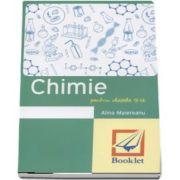 Memorator de Chimie pentru clasele 9-12 de Alina Maiereanu - Editie revizuita