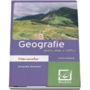 Memorator de Geografie pentru clasa a VIII-a de Cristina Modovan