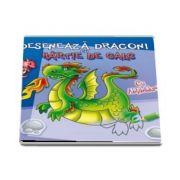 Deseneaza dragoni cu hartie de calc - Cu abtibilduri!