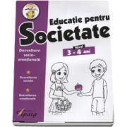 Educatie pentru Societate, nivel 3-4 ani. Dezvoltare socio-emotionala. Dezvoltare sociala. Dezvoltare emotionala (Colectia Stupul) - Nicoleta Samarescu
