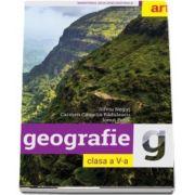 Geografie, manual pentru clasa a V-a de Silviu Negut - Contine CD cu editia digitala a manualului