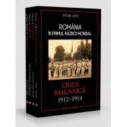 Set de 4 volume - Romania in Primul Razboi Mondial, autor Petre Otu
