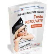 Bacalaureat 2018, limba si literatura romana - PROFIL REAL - teste rezolvate de Cristina Simona Scurtu