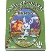 Benny - Carte de colorat, contine autocolant