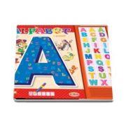 Carte cu sunete - Alfabet - Romana si Engleza