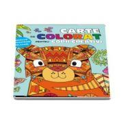 Carte de colorat pentru copii creativi - Inspiratie, concentrare, relaxare