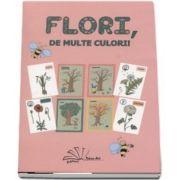 Flori, de multe culori! - Contine 56 de jetoane