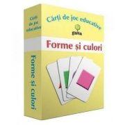 Forme si culori - carti de joc educative (pachetul contine 45 de carduri)
