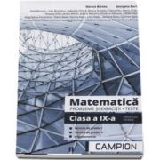 Matematica, probleme si exercitii, teste pentru clasa a IX-a. Profilul tehnic, functia de gradul I, functia de gradul II, trigonometrie de Marius Burtea
