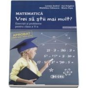 Lenuta Andrei, Matematica - Vrei sa stii mai mult? Exercitii si probleme pentru clasa a V-a. Semestrul I