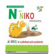 N de la Niko dinozaurul. Niko, la o plimbare prin preistorie - Coperti cartonate