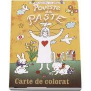 Poveste de paste - Carte de colorat (Sa coloram cu Nicol)