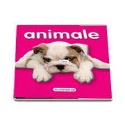 Animale - carte cu pagini cartonate si imagini