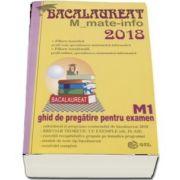 Bacalaureat Matematica 2018 - M_mate-info. Ghid de pregatire pentru examen M1 (Maria Elena Panaitopol)