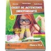 Caiet de activitate independenta, pentru clasa a IV-a - Aprobat M. E. N. 2018 - Exercitii aplicative pentru recapitularea si consolidarea cunostintelor (Alexandra Manea)