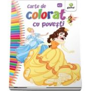 Carte de colorat cu povesti - Editia 2018
