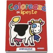 Coloreaza si lipeste - Animalele