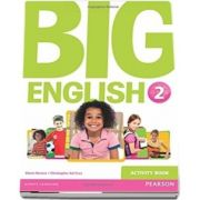 Curs de limba engleza, Big English 2 - Activity book de Mario Herrera