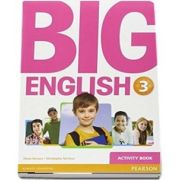Curs de limba engleza, Big English 3 - Activity book de Mario Herrera