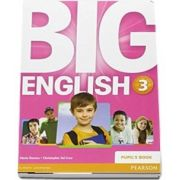Curs de limba engleza, Big English 3 - Pupils book de Mario Herrera