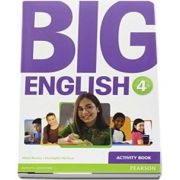 Curs de limba engleza, Big English 4 - Activity book de Mario Herrera