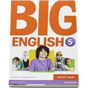 Curs de limba engleza, Big English 5 - Activity book de Mario Herrera