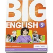 Curs de limba engleza, Big English 5 - Pupils book de Mario Herrera