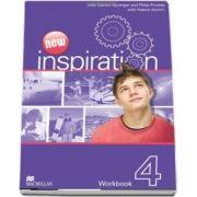 Curs de limba engleza New Inspiration. Workbook 4 de Judy Garton Sprenger