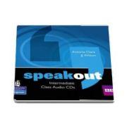 Curs de limba engleza, Speakout Intermediate Level Class CD de Antonia Clare