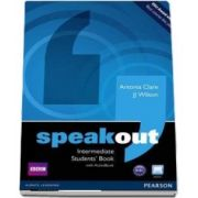 Curs de limba engleza, Speakout Intermediate Level Students Book de Clare Antonia