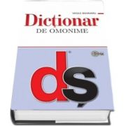 Dictionar de omonime - Vasile Bahnaru (Editie actualizata si completata, Editie Hardcover)