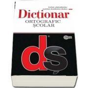 Dictionar ortografic scolar cu elemente de punctuatie de Ungureanu Elena (Editie brosata)