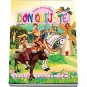 Don Quijote. Repovestire pentru copii de Al. Alexianu. Ilustratii de Eugen Taru de Miguel de Cervantes
