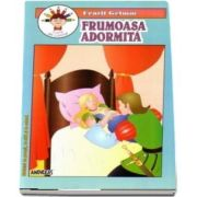 Frumoasa adormita - Fratii Grimm - Carticica de povesti, de citit si de colorat