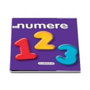 Numere - carte cu pagini cartonate si imagini